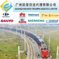 Railway transport from Shenzhen,guangzhou,shanghai to Kazakhstan