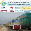 Railway freight from China to Almaty