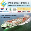 LCL shipping from China to Taichung Taiwan