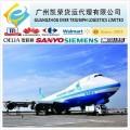 ecomomic air freight express service to Denmark Finland Greece guernsey Ireland from Guangzhou/Shenzhen